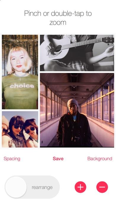 Rearrange - Smart Photo Collage Screenshot