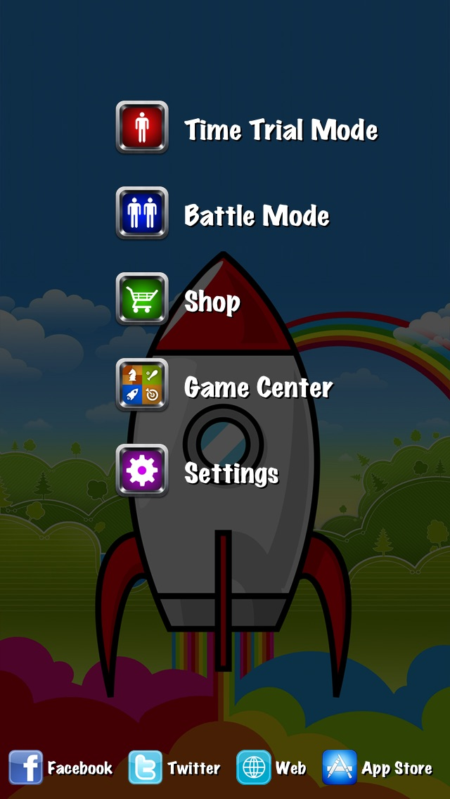 Rainbow Rockets! Screenshot 4