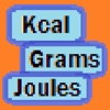 Kcal to joules to grams convertor full