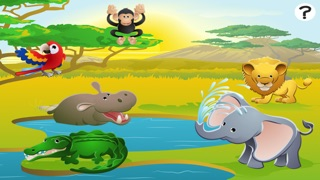 Screenshot of 123 Primo-s & Count-ing Learn-ing Game With Wild Animal-s For Kids2