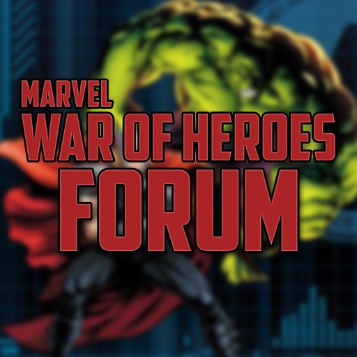 Forum for Marvel War of Heroes - Cheats, Wiki, Marketplace & More by