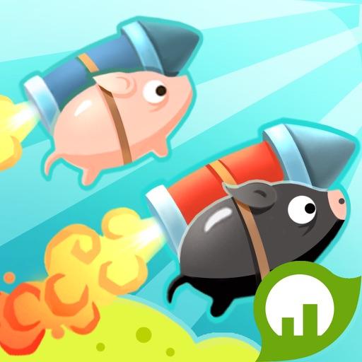 Jet Piggy - Brain Trainer iOS App