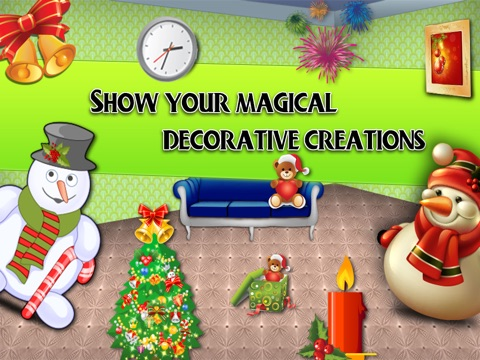 Christmas Room Decoation HD screenshot 2
