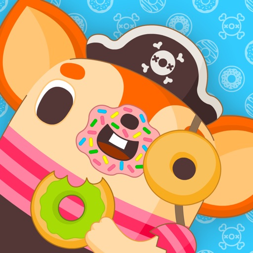 Donut Pirate – In a dangerous world of falling donuts iOS App
