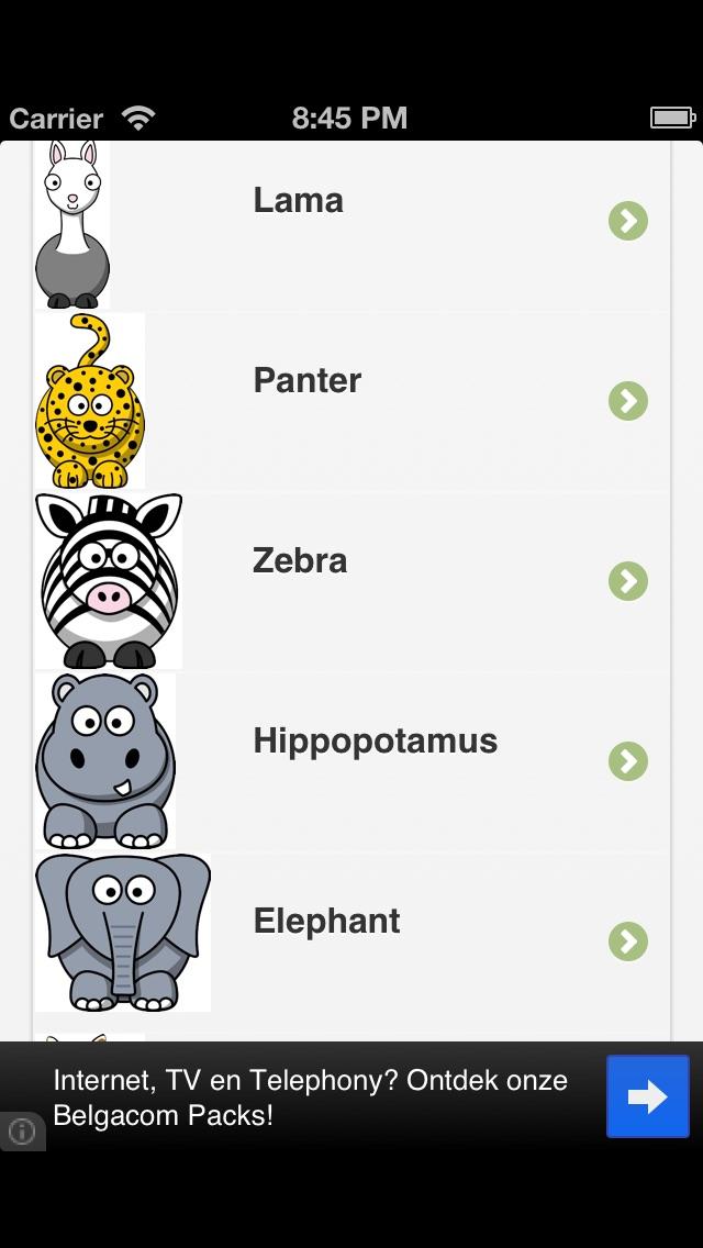 Animals puzzle لعبة الحيواناتلقطة شاشة4
