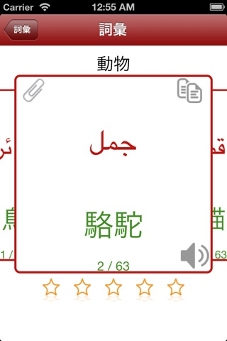 日常詞彙 - 阿拉伯語 screenshot 3