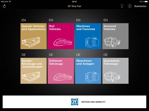 ZF XtraFair screenshot 1