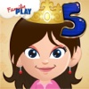 Princess Goes to School: Fifth Grade Learning Games School Edition