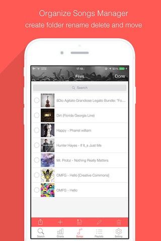 Music Tuber - Free Music Stream Manager & Mp3 Media Player screenshot 3