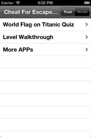 Cheat for Escape the Titanic Devious Escape Puzzler - Walkthrough Answer and Guide Quiz screenshot 2