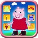 Dressing up Pig Game Pro - Kids Safe App No Adverts