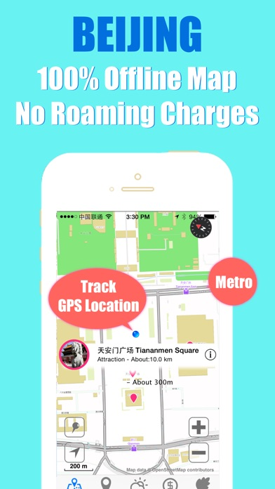 download Beijing travel guide with offline map and metro transit by BeetleTrip apps 0
