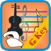Memorise music staff for violin in G Key