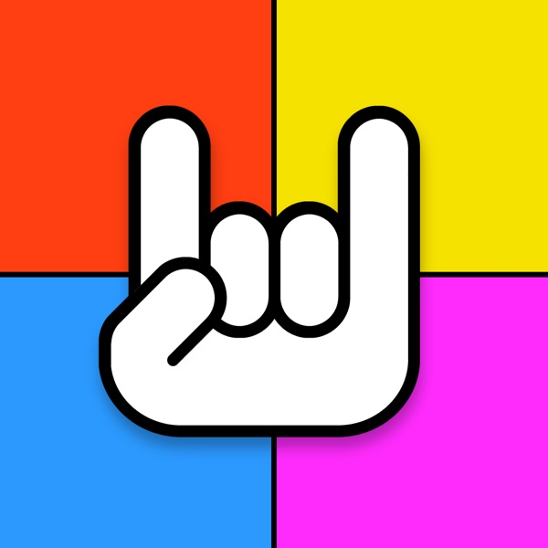 Rainbow Rock Tiles – play the free color music tile guitar tabs ...