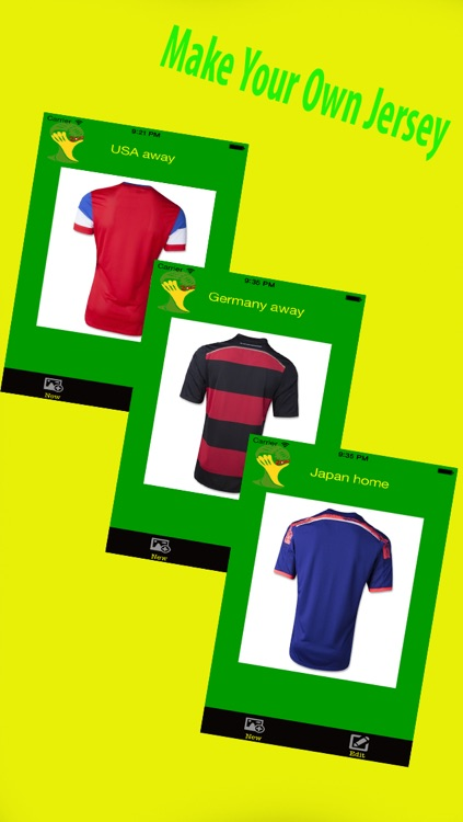 Jersey Maker : Create own jersey of your favorite team by