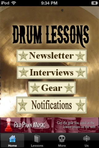 Drum Lessons screenshot 1