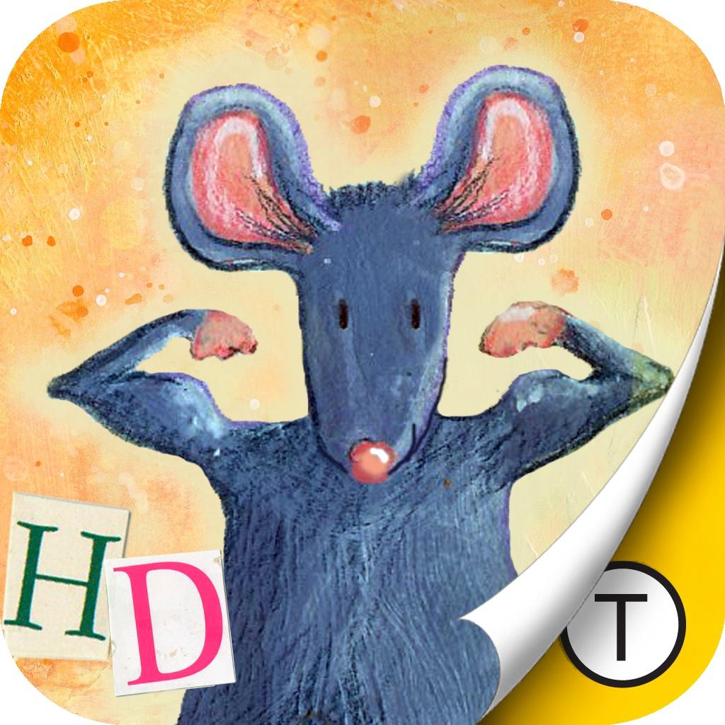 Fierce Grey Mouse HD