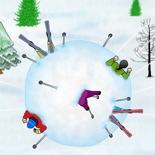 Winter Mountain Avalanche Snowball : Run like Hell in the snow - Free Edition iOS App