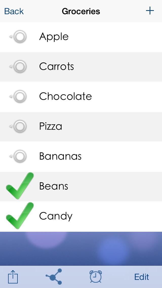 Screenshot of Lists To-do2