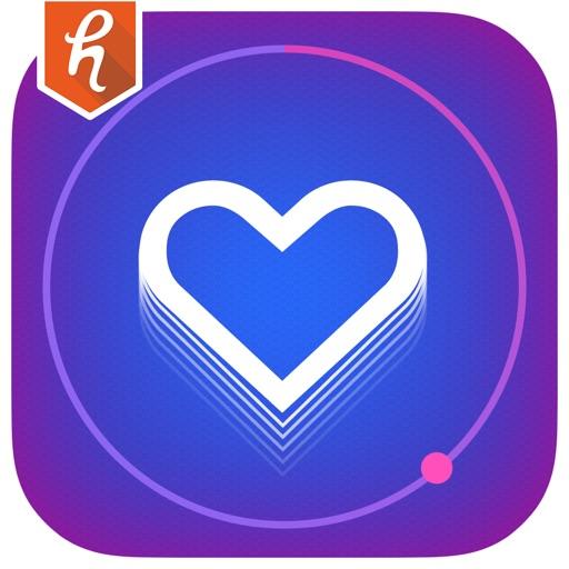 心脏速率监视器的BPM – 便携式心动图和脉冲计数器