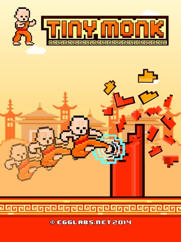 Screenshots of Tiny Monk Fight - Play Free 8-bit Retro Pixel Fighting Games for iPad