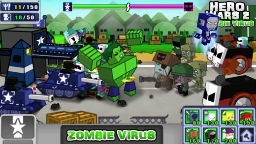 Hero Wars 2: Zombie Virus Screenshot