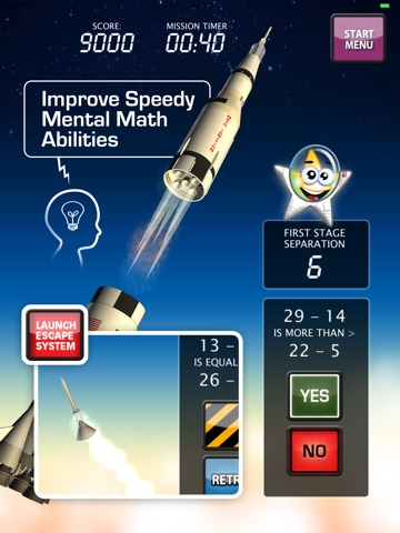 Screenshot #3 for MATH IGNITION™ Launch, LM Dock & TLI [iPad edition]