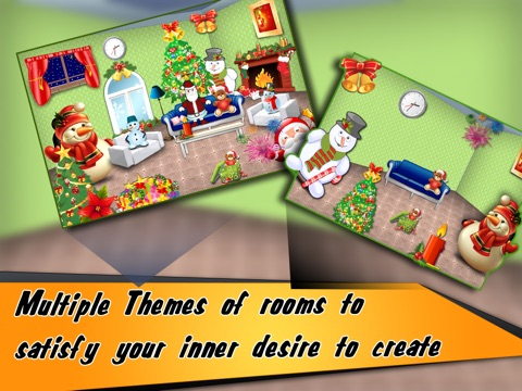 Christmas Room Decoation HD screenshot 3