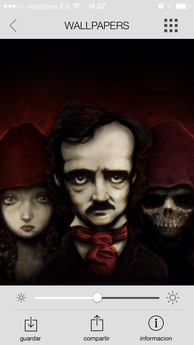 Screenshot #8 for Edgar Allan Poe - Wallpapers