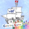 Coloring Book For Kids - Jake Neverland Pirates Version