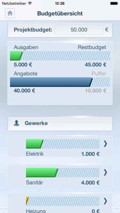 Screenshot von Mein Bauprojekt1