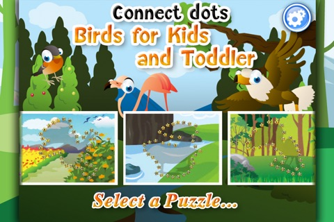 Kid's Birds Dot-to-Dot screenshot 1