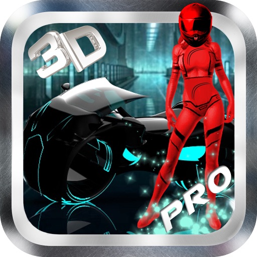 Accelerate Neon Bike 3D PRO : Action Racing Game By