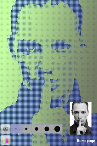 Halftone Lens screenshot 3