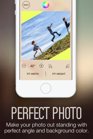 Photo Fit FREE - Convert Photos Pictures Images from any Size into Square Shape for Instagram screenshot 3