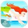 美人魚游泳比賽- 海洋插板快速瘋狂衝刺免費