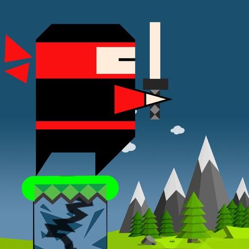 Jumping Ninja Fighters iOS App