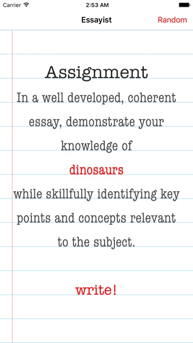 essay writer on the app store iphone screenshot 1