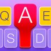 Appyfurious - Color Keyboard Maker - Keyboards with custom colors, backgrounds, fonts and emoji emoticons  artwork