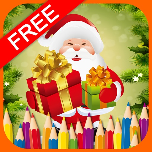 ColoringBook:Christmas(FREE) iOS App