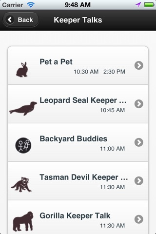 Taronga Zoo Sydney map & shows screenshot 4