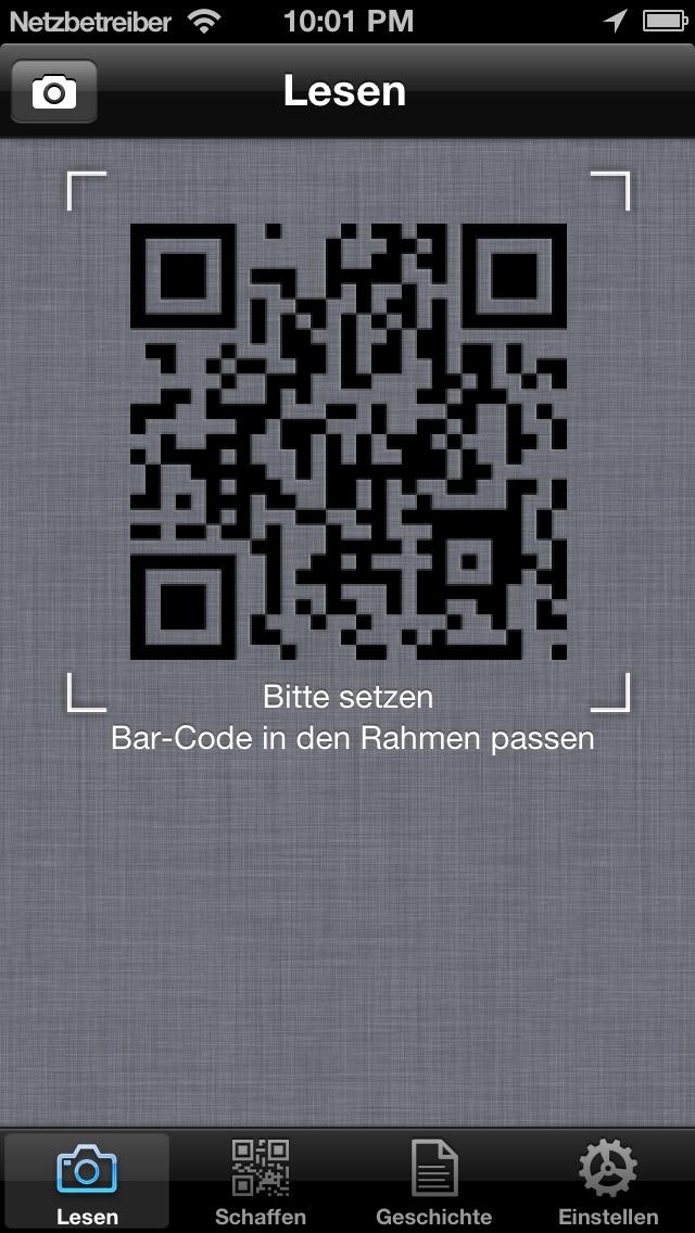 Screenshot von QR-Meister - einfach und schnell QR Code und Barcode-Leser / Scanner und Generator.1