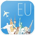 Europe Carte en ligne & vols. Les billets avion, aéroports, location de voiture, réservation hôtels.