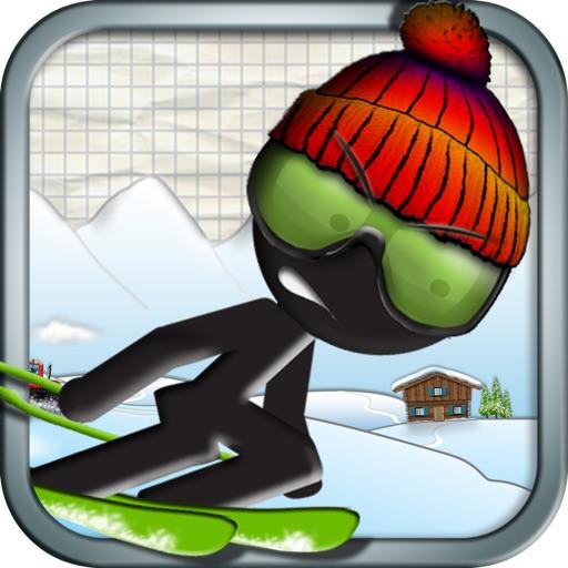 火柴人滑雪赛:Stickman Ski Racer