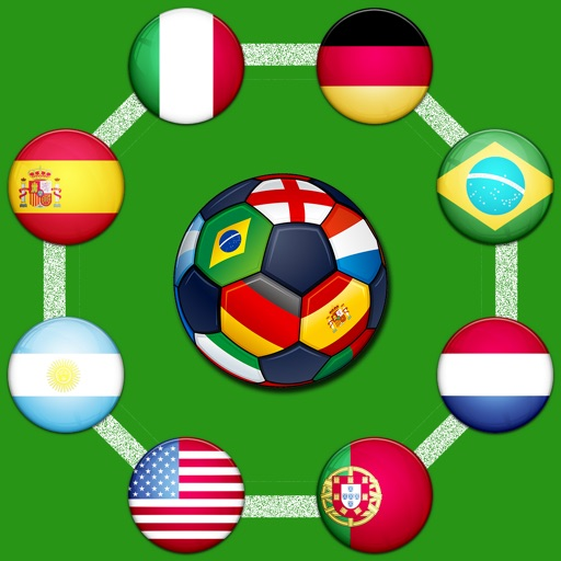 Avoid The Flags - Football Dribbling Circles iOS App