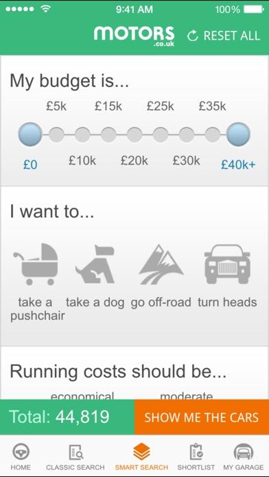 Motors.co.uk car search Скриншоты7