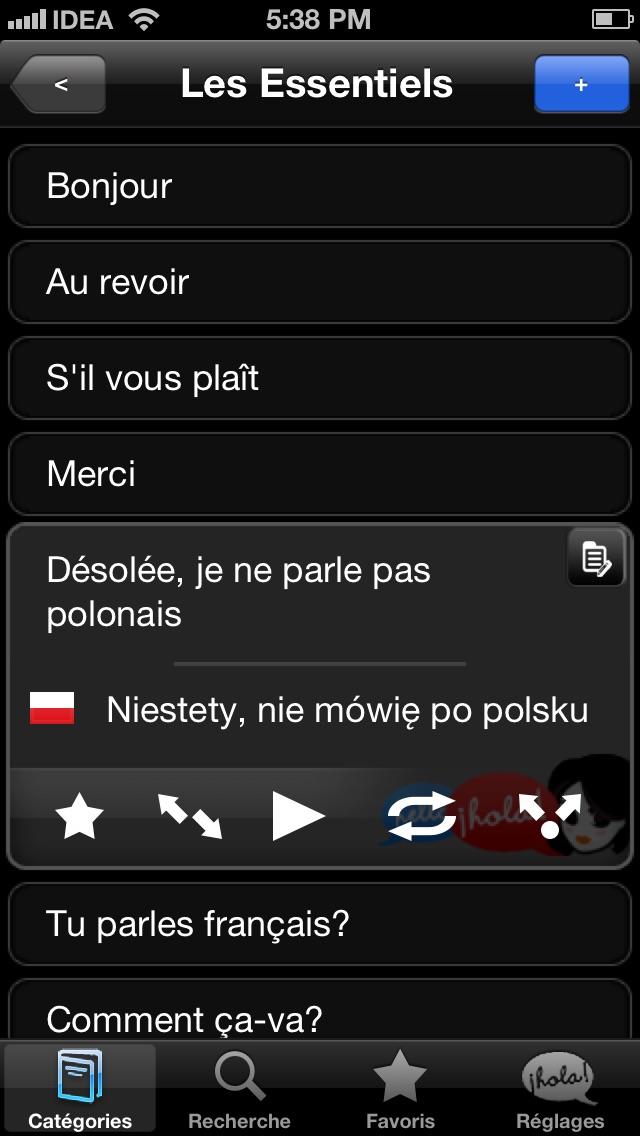 Lingopal Polonais LITE - guide de conversation audioCapture d'écran de 2