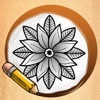 Learn To Draw Tattoo Flowers