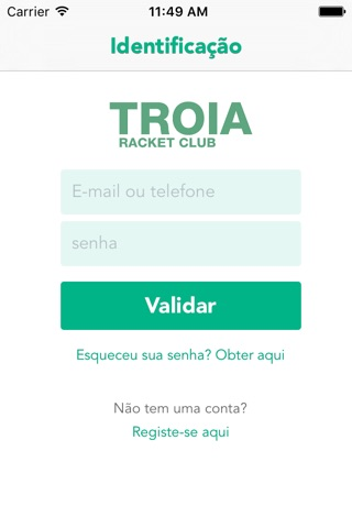 Troia Racket Club screenshot 1