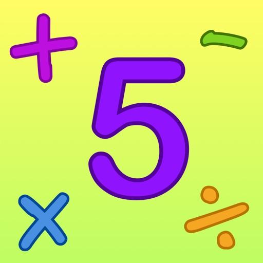 Kids Math Fun — Fifth Grade iOS App